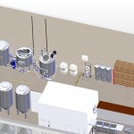 Brewery Floorplan 3d Model