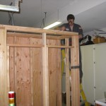 fermenting chamber built up