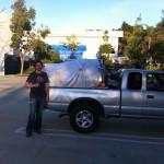 fermentor in truck