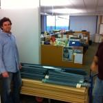 jose and joe getting shelves