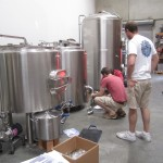 building brewery prep work
