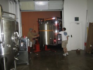 moving mash kettle