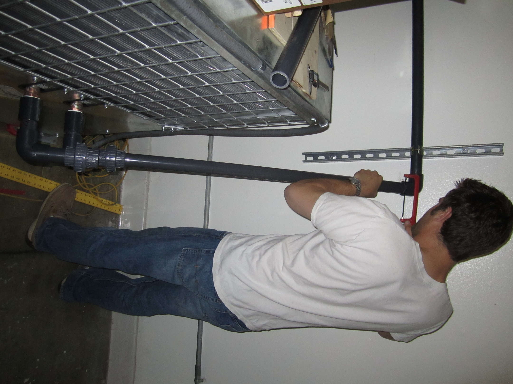 Installing The Glycol System 171 Enegren Brewing Blog