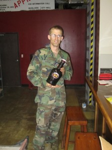 SeaBees Sorlie beer growler