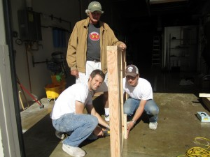 building ttb wall frame