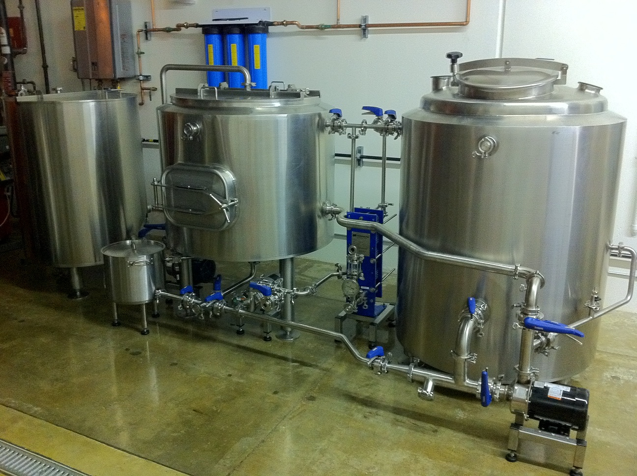 Completed 3 Bbl Brewery