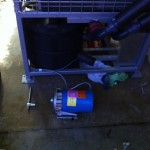 glycol pump down