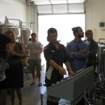 captain giving brewery tour