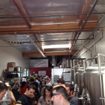 ebc first annivesary tons of people at brewery