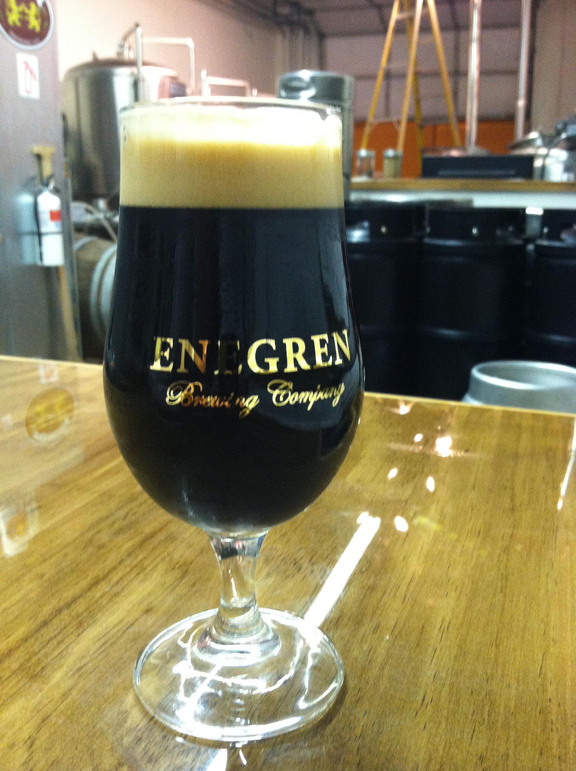 Keep The Glass Day With Daniel Irons Oatmeal Stout Enegren Brewing Energen Oatmilk Mixbry10scx24g In Fancy Beer