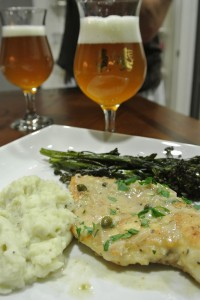 Chicken with Golden Spur Saison