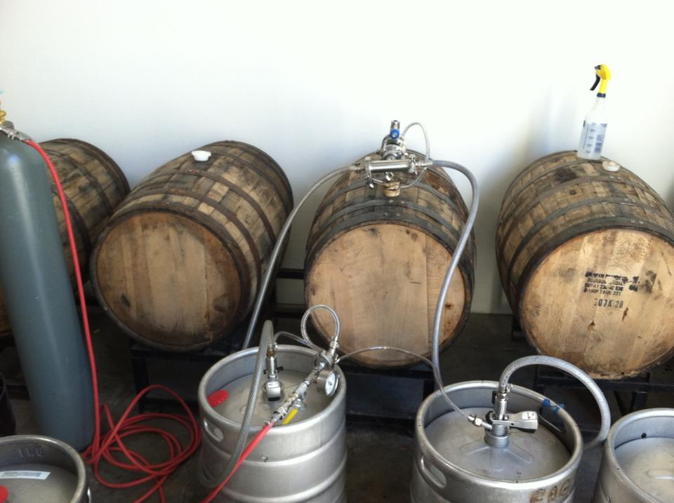 daniel irons stout bourbon barrel filling