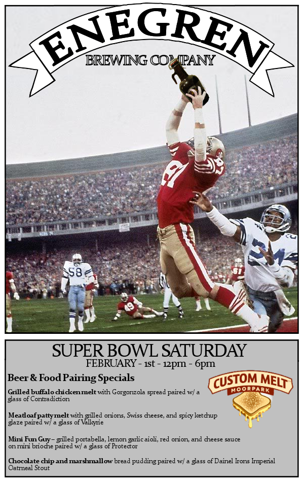 Super Bowl Saturday - 2014