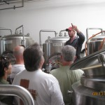 matt in 3 bbl brewery