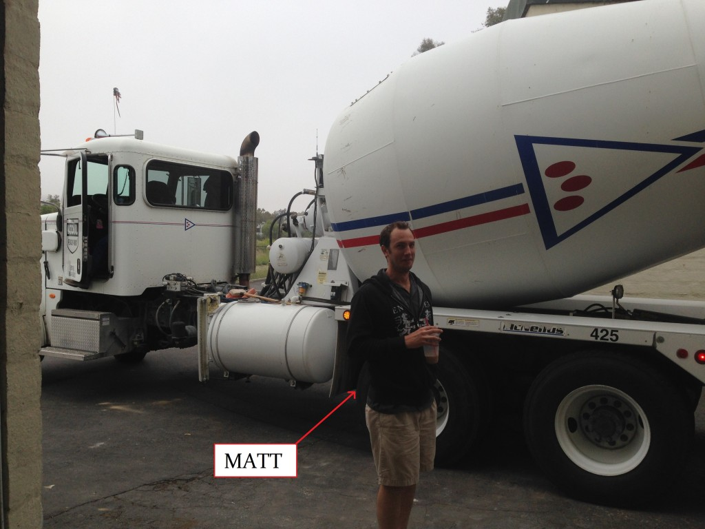 matt in front of cement mixer-annotated