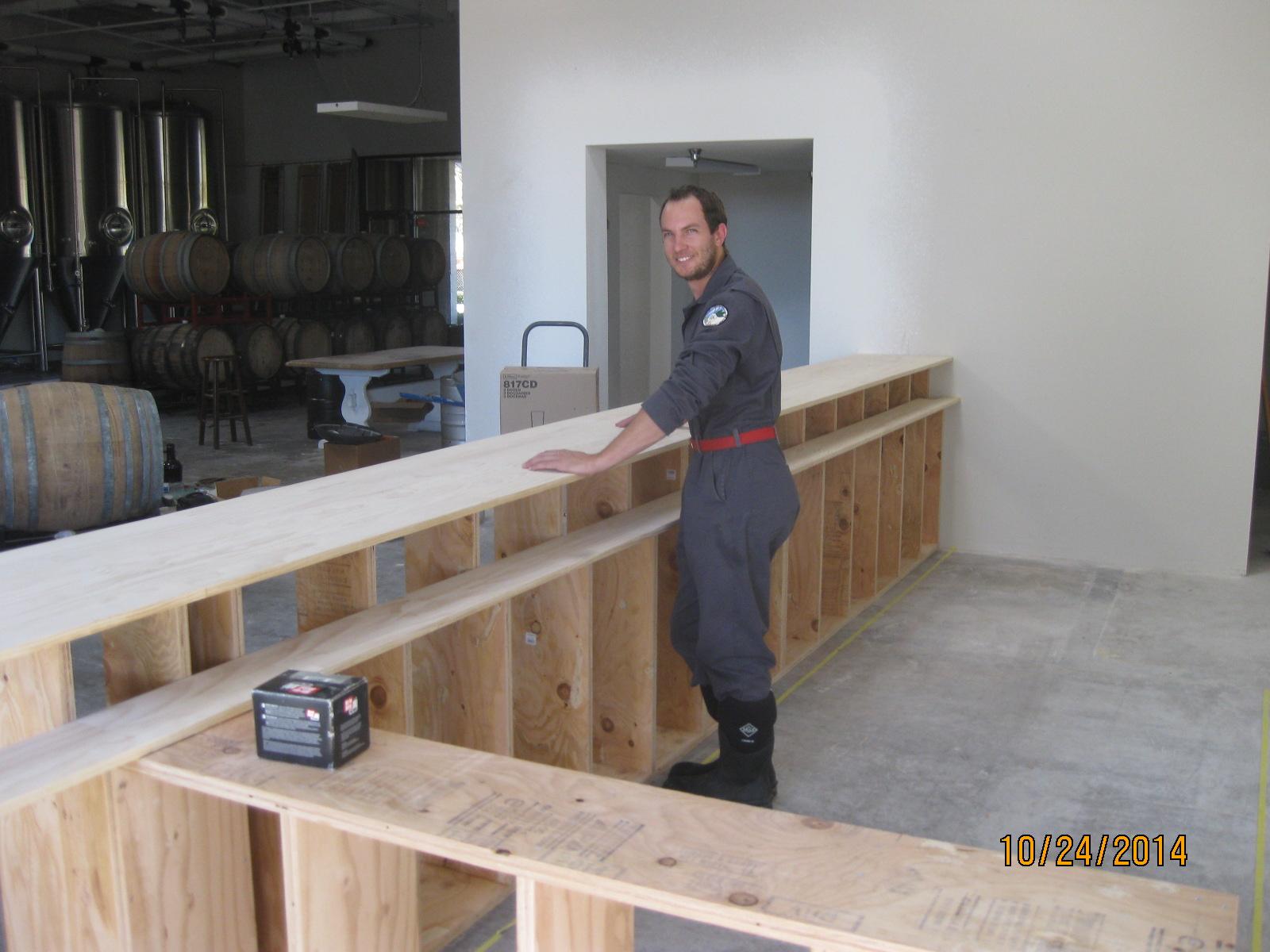 Operation Dirty Green – Construction Update « Enegren Brewing Blog
