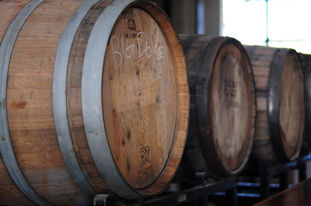 A beer in a barrel is worth two in a fermentor